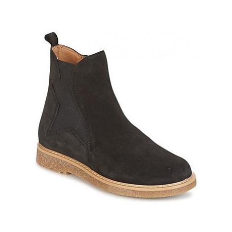 Unisa NEVADA girls's Children's Mid Boots in Black