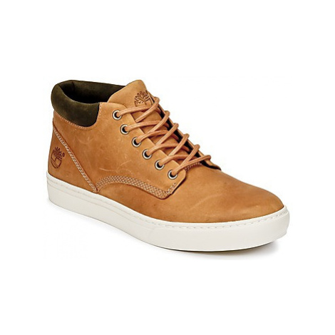 Timberland ADVENTURE 2.0 CUPSOLE CHK men's Shoes (High-top Trainers) in Brown