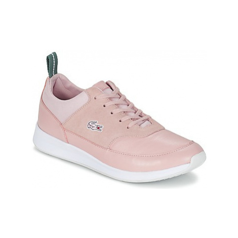 Lacoste JOGGEUR LACE 117 1 G women's Shoes (Trainers) in Pink