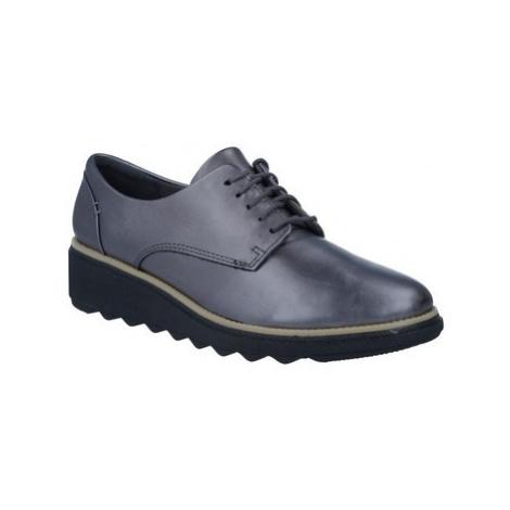 Clarks Sharon Noel Women's Shoes women's Casual Shoes in Grey