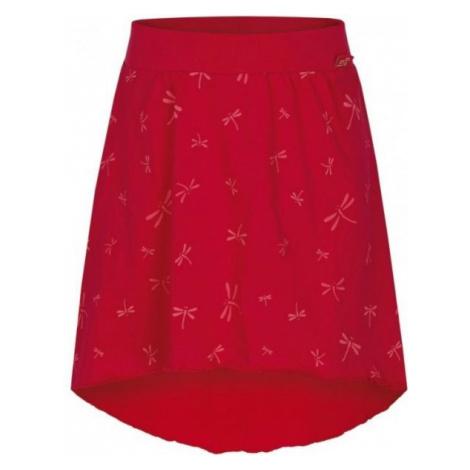 Loap BRENTINA red - Girls' skirt