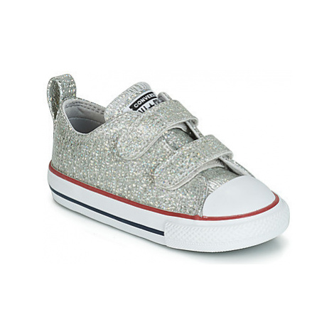 Converse CHUCK TAYLOR ALL STAR 2V SPARKLE SYNTHETIC OX girls's Children's Shoes (Trainers) in Gr