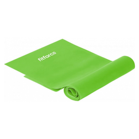 Fitforce EXPAND LIGHT 250 CM light green - Latex exercise strap