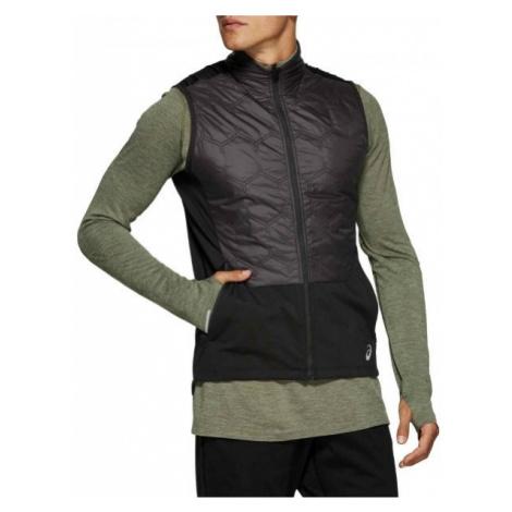 Asics WINTER VEST black - Men's winter running vest