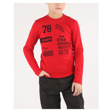 Diesel Tiago Kids T-shirt Red