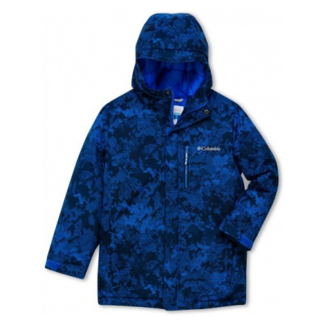 Columbia ALPINE FREE FALL II JACKET dark blue - Boys' winter jacket