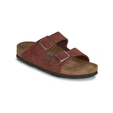 Birkenstock ARIZONA SFB women's Mules / Casual Shoes in Red