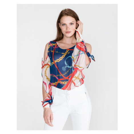 Pinko Babs Blouse Blue Red