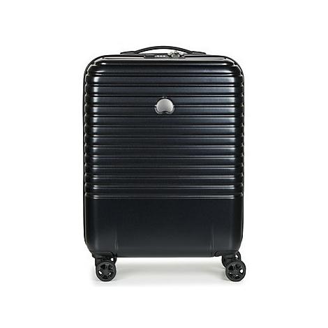 Delsey CAUMARTIN PLUS VALISE TROLLEY CABINE SLIM 4 DOUBLES ROUES 55 CM men's Hard Suitcase in mu