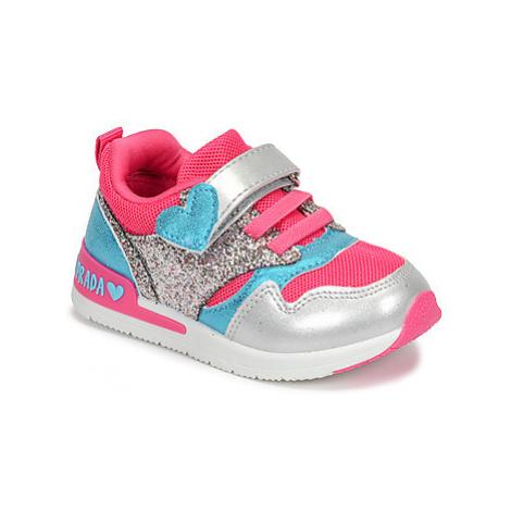 Agatha Ruiz de la Prada RUNNING girls's Children's Shoes (Trainers) in Pink