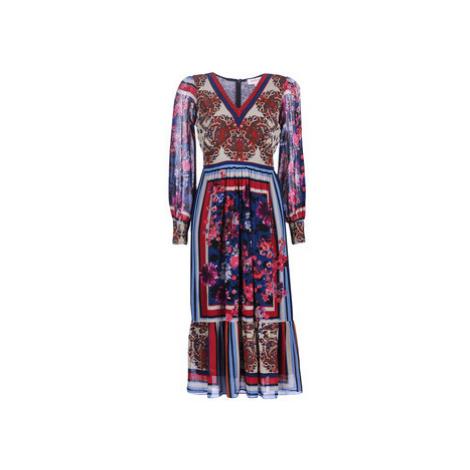 Derhy BELOTE women's Long Dress in Blue