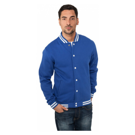 Urban Classics College Sweatjacket royal