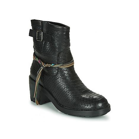 Felmini NAHA women's Low Ankle Boots in Black