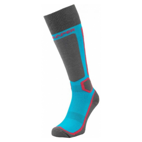 Reaper FUKSA grey - Women's ski knee socks