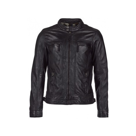 Oakwood CASEY men's Leather jacket in Black