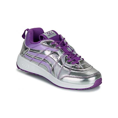 Heelys NITRO girls's Children's Roller shoes in Silver