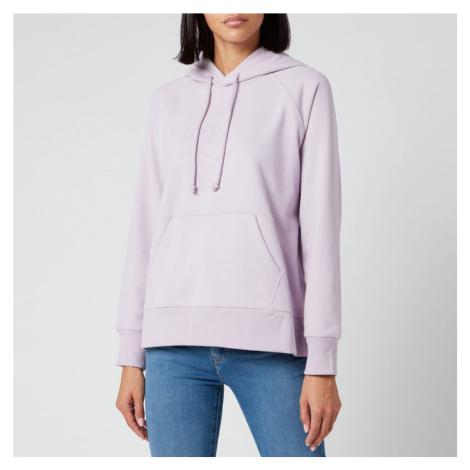 Levi's Women's Logo Graphic Sport Hoodie - Heather Lavender Frost Garment Dye Heat Levi´s