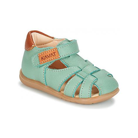 Kavat RULLSAND girls's Children's Sandals in Blue