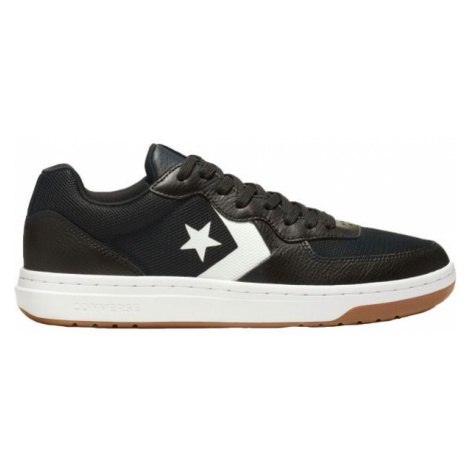 Converse RIVAL LEATHER black - Women's sneakers