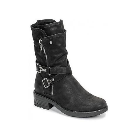 Bullboxer 427583F6SBKBK women's Mid Boots in Black