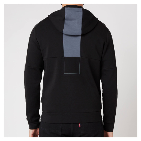 BOSS Athleisure Men's Saggy 1 Zip-Through Hoodie - Black Hugo Boss