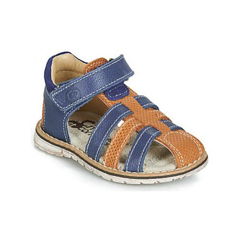 Citrouille et Compagnie JATILEMI boys's Children's Sandals in Blue