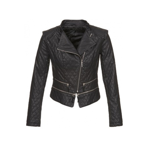 Fornarina JULIANE women's Leather jacket in Black