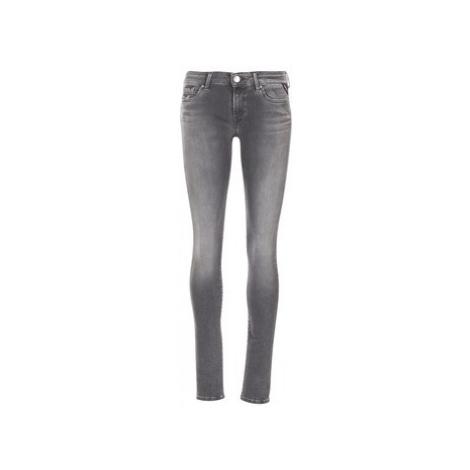 Replay LUZ HYPERFLEX women's Skinny Jeans in Grey