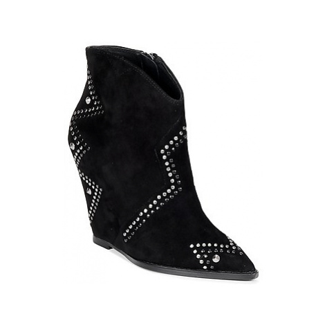 Ash JESSICA women's Low Ankle Boots in Black