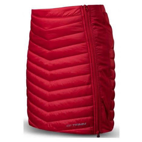 TRIMM RONDA red - Women's insulated skirt
