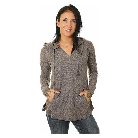 sweatshirt Roxy Long Night - KVJ0/Anthracite - women´s