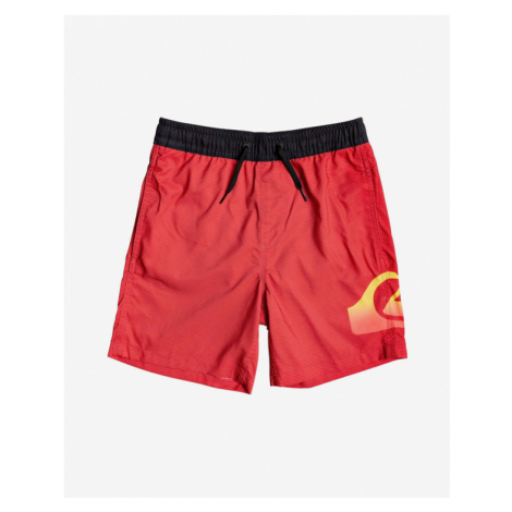 Quiksilver Dredge Kids Swimsuit Red