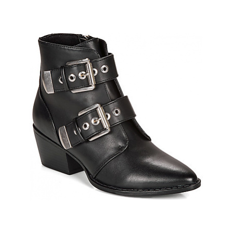 MTNG 57985-C47176 women's Low Ankle Boots in Black
