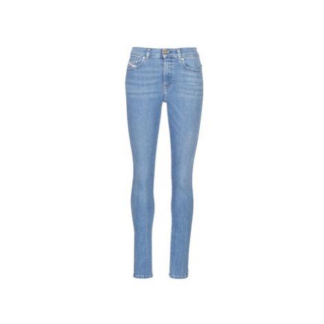 Diesel D ROISIN women's Skinny Jeans in Blue