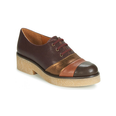 Chie Mihara YELLOW women's Casual Shoes in Bordeaux