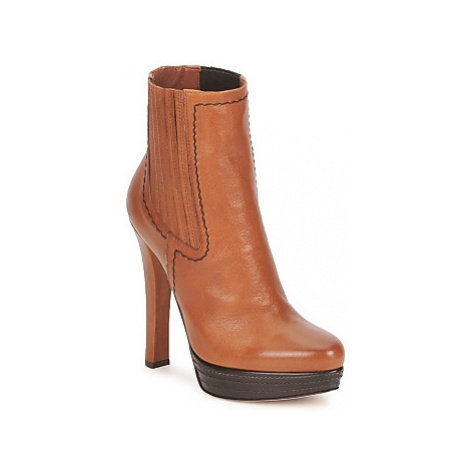 Sebastian AYACUO women's Low Ankle Boots in Brown