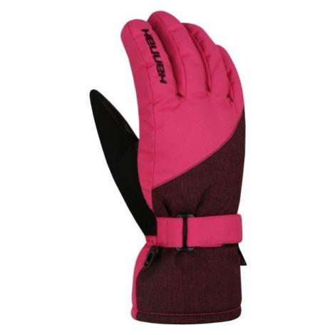 Hannah ROWE pink - Women's ski gloves