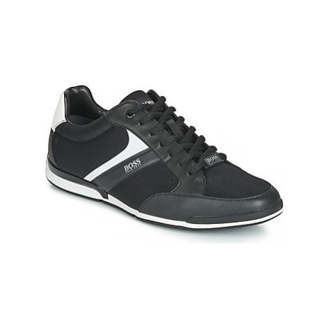 BOSS SATURN LOWP METH men's Shoes (Trainers) in Black Hugo Boss