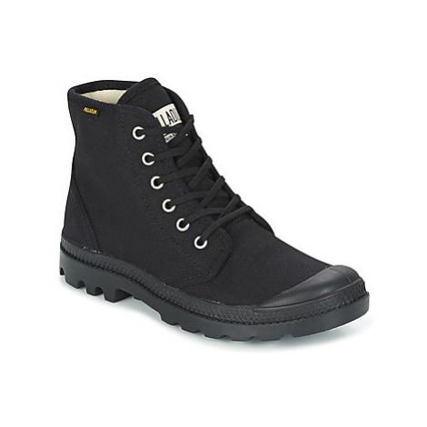 Palladium PAMPA HI ORIG U women's Mid Boots in Black