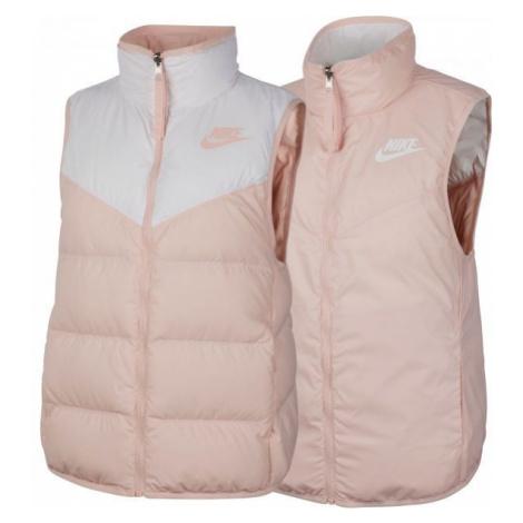 Nike NSW WR DWN FILL VEST REV black - Women's reversible vest