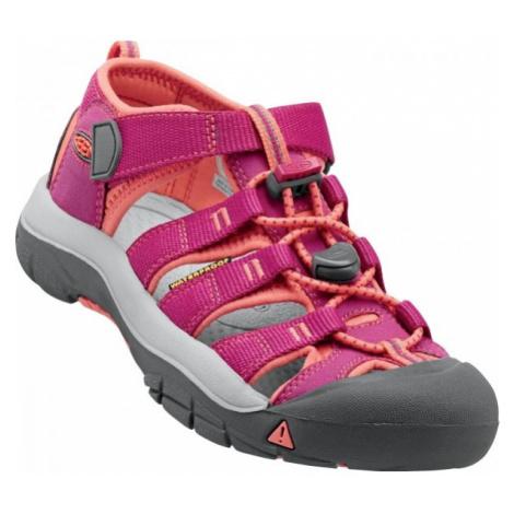 Keen NEWPORT H2 JR pink - Kids' outdoor sandals