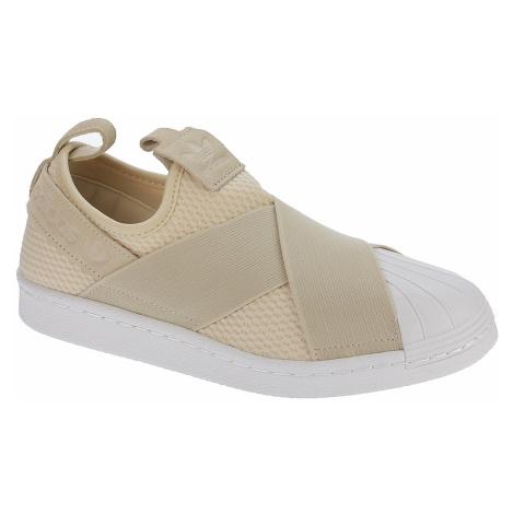 shoes adidas Originals Superstar Slip-On - Linen/Linen/White