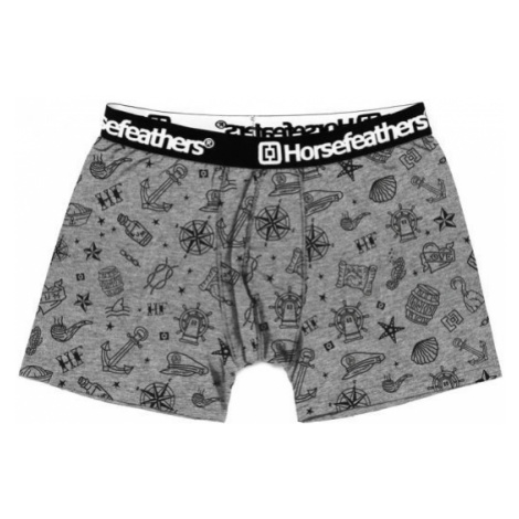Horsefeathers SIDNEY BOXER SHORTS grey - Men's boxers