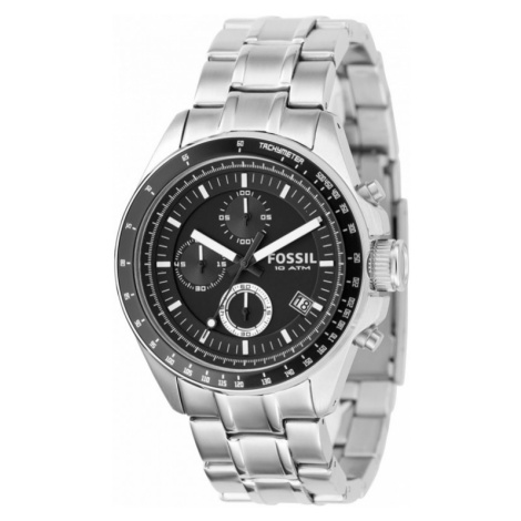 Mens Fossil Decker Chronograph Watch CH2600IE