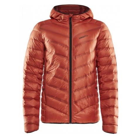 Craft LIGHTWEIGHT DOWN orange - Men's winter jacket