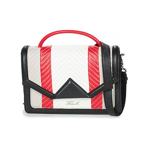 Karl Lagerfeld K/KLASSIC QUILTED MULTI women's Shoulder Bag in Multicolour