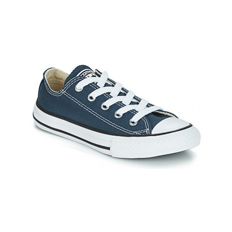 Converse ALL STAR OX girls's Children's Shoes (Trainers) in Blue