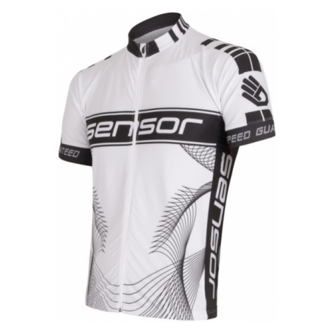 Sensor TEAM white - Men's cycling jersey