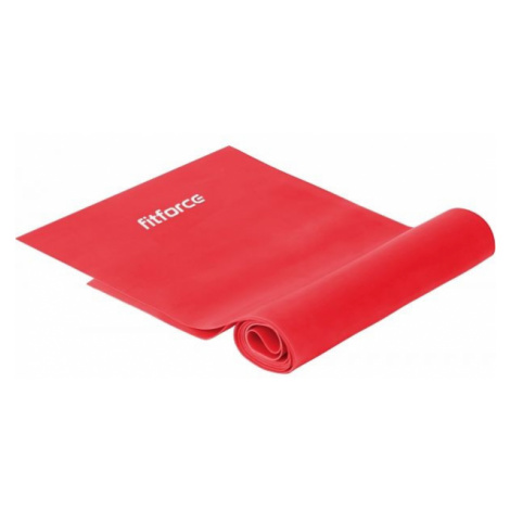Fitforce EXEBAND 120x0,035 red - Fitness band