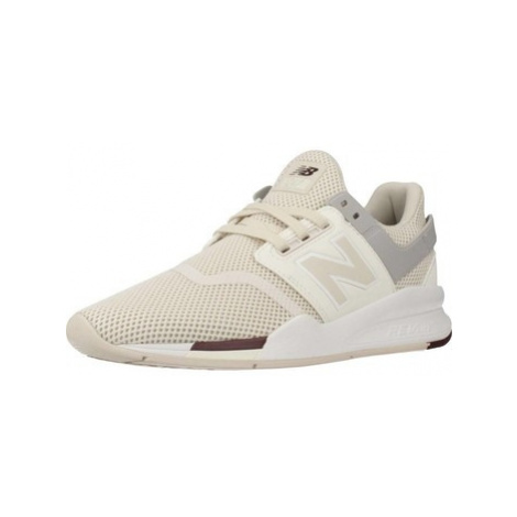 New Balance WS247 women's Shoes (Trainers) in Beige